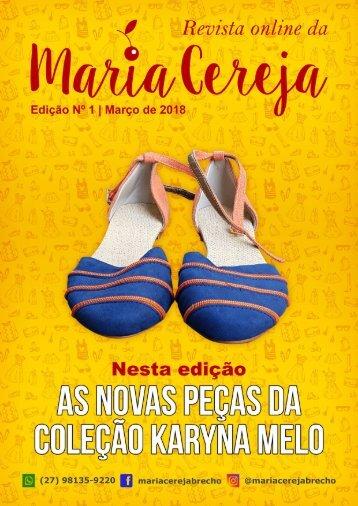 Revista Maria Cereja - Edição01