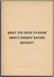 What You Need to Know About Energy Rating Report