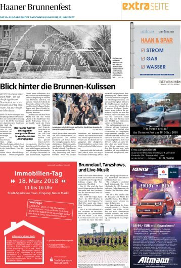 Haaner Brunnenfest  -16.03.2018-