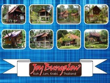 Amazing View of Koh Jum Island from Joy Bungalow