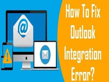 1-800-243-0019 Fix Outlook Integration Error