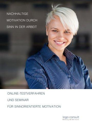Nachhaltige Motivation durch Sinn in der Arbeit