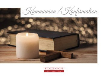 Stolzenhoff Broschüre Konfirmation 03/2018
