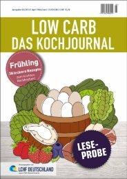 LCHF Kochjournal Frühling_Leseprobe