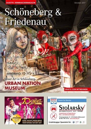Gazette Schöneberg & Friedenau Nr. 10/2017