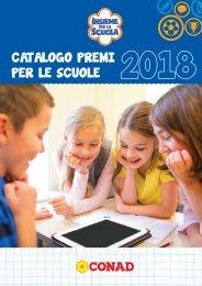 Catalogo premi Insieme per la scuola 2018