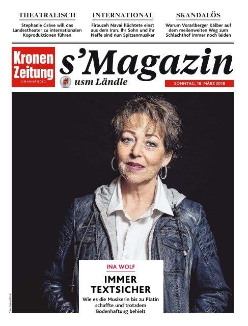 s'Magazin usm Ländle, 18. März 2018