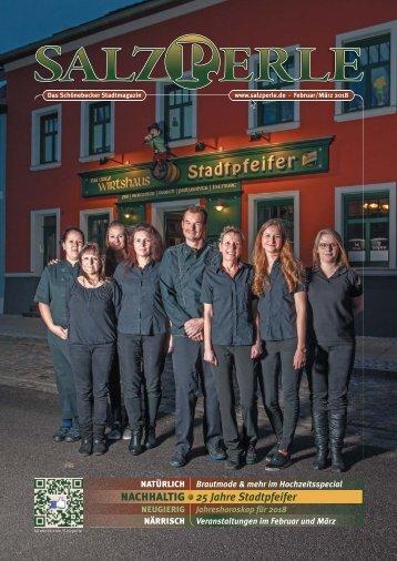SALZPERLE - Stadtmagazin Schönebeck (Elbe) - Ausgabe 02/2018+03/2018