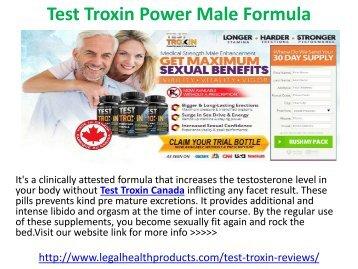 Test Troxin Power Male Formula