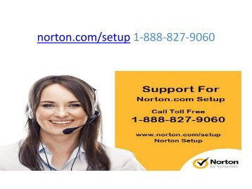 Norton Setup install - Norton Enter Key