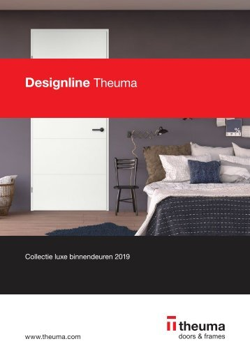 Designlne Theuma assortimentsbrochure 2018