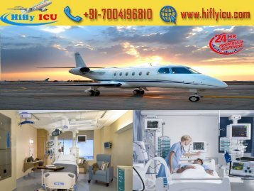 Get Low Fare Charter Air Ambulance Service from Delhi and Mumbai by Hifly ICU