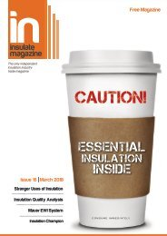 Insulate Magazine - Essential Insulation Inside - March 2018 Issue 16
