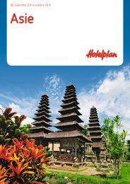 HOTELPLAN Asie 1112