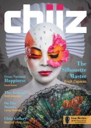Chiiz Volume 12 : Portrait Photography