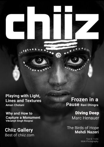 Chiiz Volume 10 : Black and White Photography
