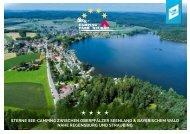 Hausprospekt See-Campingpark Neubäuer See