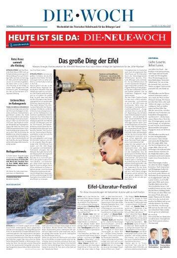Bitburger Woch 17.03.2018