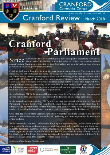 Cranford Review / March_2018