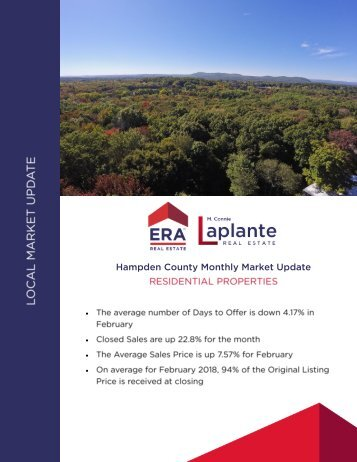 Market Report February 2018 - Hampden County