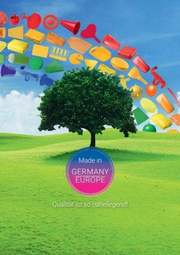 Kunststoffprodukte Made in Germany und EU
