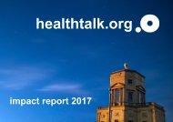 2017 healthtalk impact report