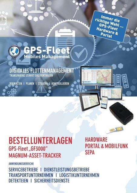 Bestellformulare GF3000 ZUM AUSFUELLEN