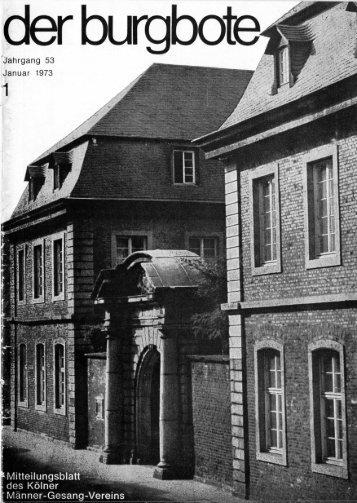 Der Burgbote 1973 (Jahrgang 53)