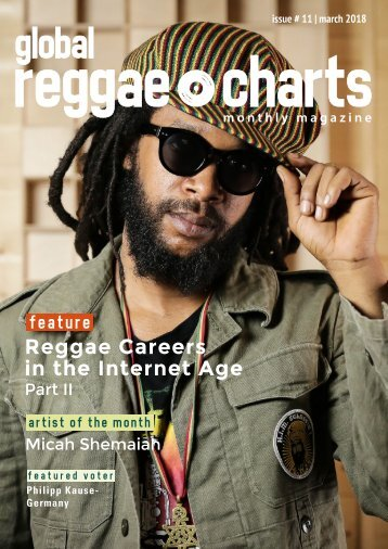 Global Reggae Charts - Issue #11 / March 2018