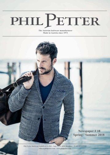 Phil Petter Zeitung Spring/Summer 2018