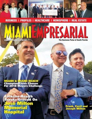 Miami Empresarial Magazine Winter 2018