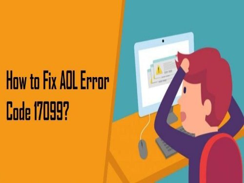 1-800-488-5392 Fix AOL Error Code 17099
