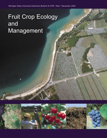 Fruit Crop Ecology and Management - UVM Apple Orchard