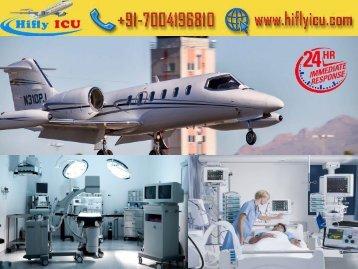 Get ICU Facility Air Ambulance Service from Mumbai and Kolkata by Hifly ICU