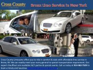 Bronx Limo Service in New York