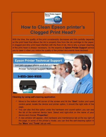How to Clean Epson printer's Clogged Print Head