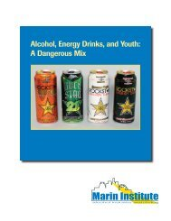 Alcohol, Energy Drinks, and Youth - Georgia Division of Public Health
