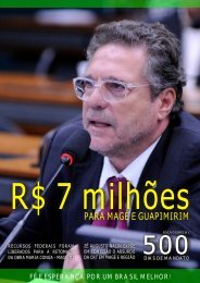 Informativo Parlamentar - Deputado Federal Zé Augusto Nalin