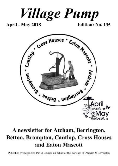 Village Pump Edition 135  (Apr - May 2018)