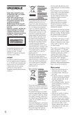 Sony DVP-SR750H - DVP-SR750H Consignes d'utilisation Croate - Page 2