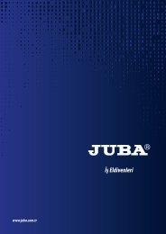Juba İş Eldivenleri Kataloğu - 2018