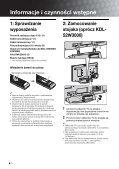 Sony KDL-52W3000 - KDL-52W3000 Mode d'emploi Polonais - Page 4