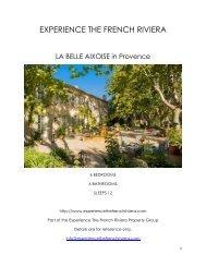 La Belle Aixoise - Provence