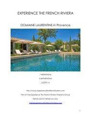 Domaine Laurentine - Provence