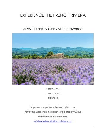 Mas Du Fer-A-Cheval - Provence