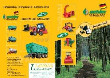 Profi - Lensing Landmaschinen