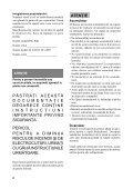 Sony DSC-RX1 - DSC-RX1 Mode d'emploi Roumain - Page 2