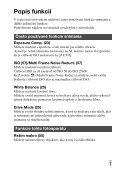 Sony DSC-RX1 - DSC-RX1 Consignes d'utilisation Slovaque - Page 7