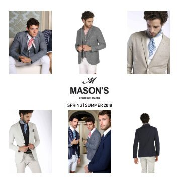 Mason's Lookbook Spring/Summer 2018