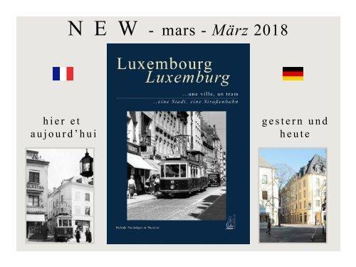 Livre sur les tramways de Luxembourg - Buch Luxemburg Strassenbahnen